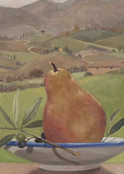 Red Pear,Tuscany